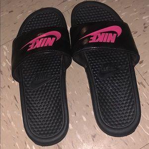Nike womens slides size 8